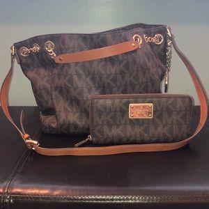 Michael Kors Shoulder Bag with Wallet